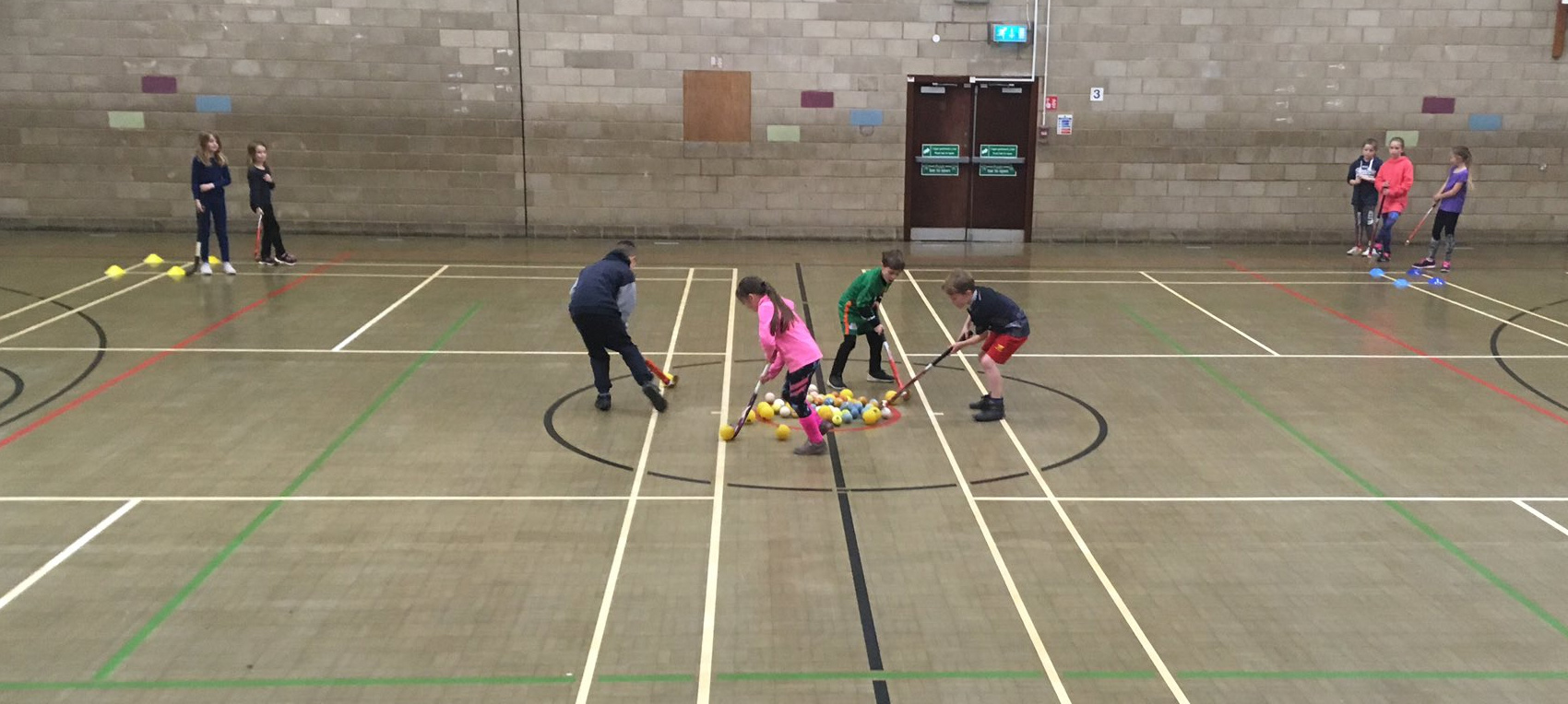 Great to have 13 new hockey players at Llandrindod Wells Sports Centre